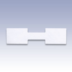 Etichete dreptunghiulare albe - 500 buc