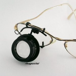 Lupa pentru ochelari ARY nr. 2.5 - factor de marire 4x