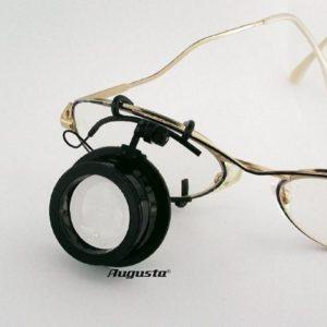 Lupa pentru ochelari ARY nr. 5 - factor de marire 2x