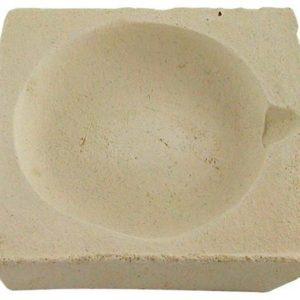 Creuzet ceramica patrat - 50 mm