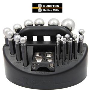 Set 21 poansoane (cu bloc patrat) - Durston