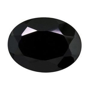 Asia Oval - Negru