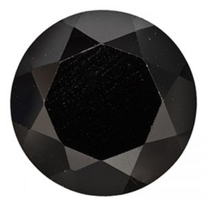 rotund-negru